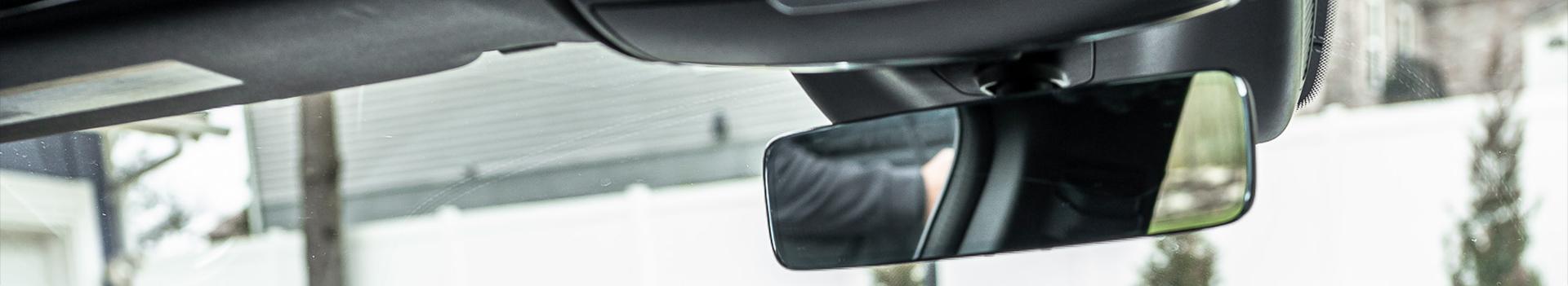 Rear View Mirror Car Sun Visor
